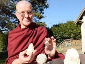Ani, nonne bouddhiste et archéologue à Moulicent