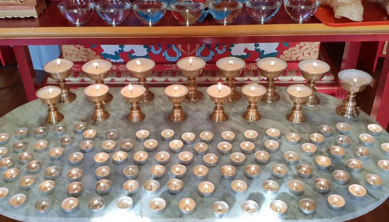 Lampes Vajradhara Ling